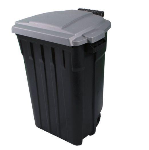 heavy duty plastics 32gallon outdoor wheeled trash can garbage waste bin w lid garbage wastegood