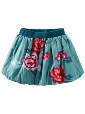 Tea Collection Tai Kang Floral Bubble Skirt #tinysoles