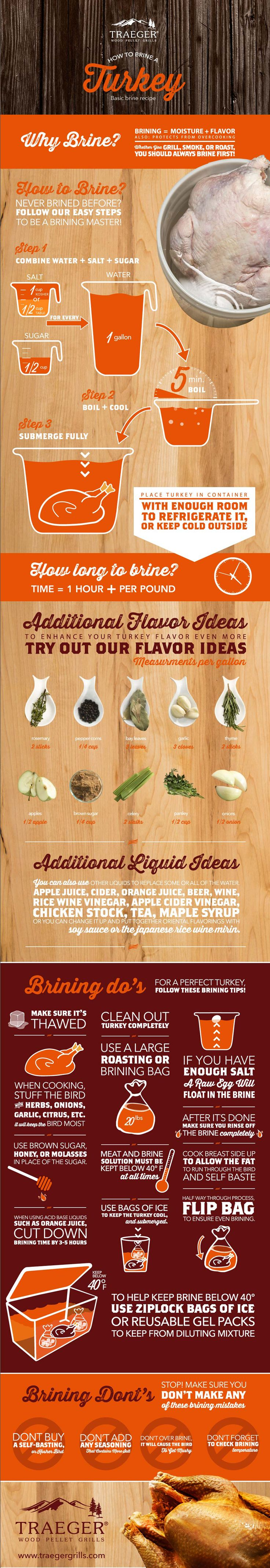 Turkey Brine Infographic