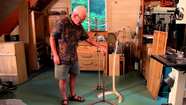 FINLAYSON, MN - Lakes Country Living takes viewers to the studio of talented woodworker Roger Knudson, to discuss his creative process and the art of making ...