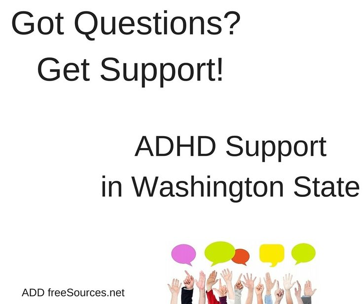 The Puget Sound area still has 2 Adult and 5 Parent ADHD groups! Find them here and leave a personal note for the good people at ADD Resources.