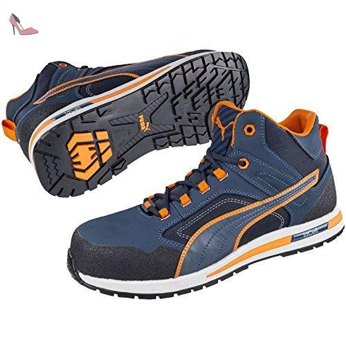 Puma 633140.45 Crossfit Chaussures de sécurité Mid S3 Hro SRC Taille 45 - Chaussures puma (*Partner-Link)