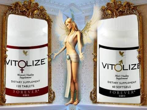 Vit♀lize™ Women's  Növényi és ásványi anyagokat, vitaminokat tartalmazó étrend-kiegészítő nők részére.  Kifejezetten a nők részére, tudományosan összeállított étrend-kiegészítő, melyben az E vitamin támogatja a sejtek oxidatív stresszel szembeni védelmét, a B6 vitamin részt vesz a hormonális aktivitás szabályozásában és a C vitaminnal együtt hozzájárul a fáradtság és kifáradás csökkentéséhez. A B12 vitamin és a vas hozzájárul az idegrendszer és a normál pszichológiai funkció fenntartásához…