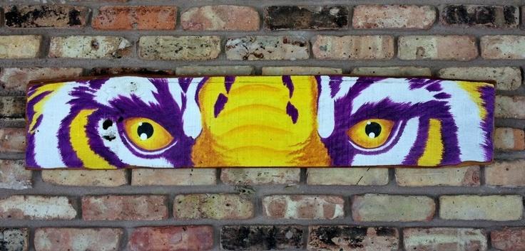 LSU tiger eyes on cypress
