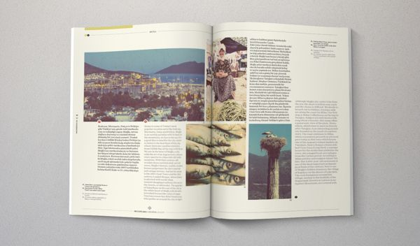 Turkish Airlines: Skylife Inflight Magazine by The Design Surgery, via Behance