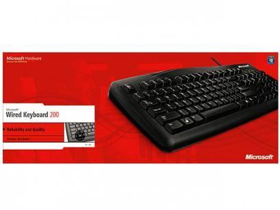 Teclado Microsoft Wired 200 - JDW-00001 com as melhores condições você encontra no Magazine Vendaosonline. Confira!
