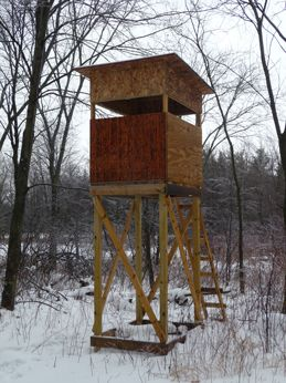 Enclosed Deer Stands | ... /thumbs_front_view_standing.jpg] 46 0 Close Up View of Deer Stand
