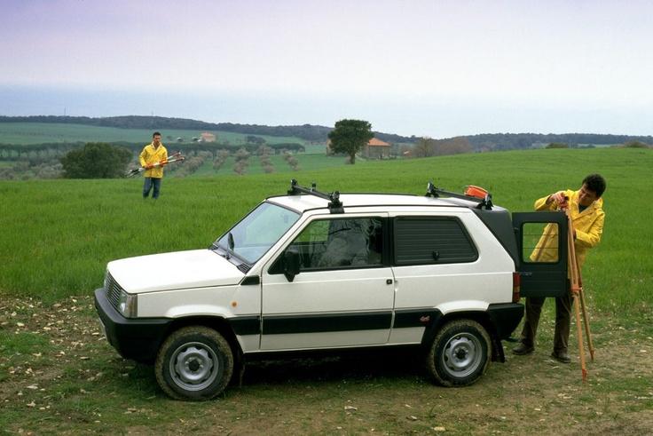 Fiat Panda Van 4x4 Presse Foto
