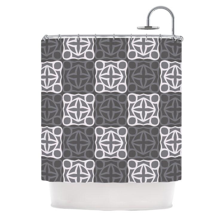Kess InHouse Miranda Mol Granny Goes Modern Shower Curtain