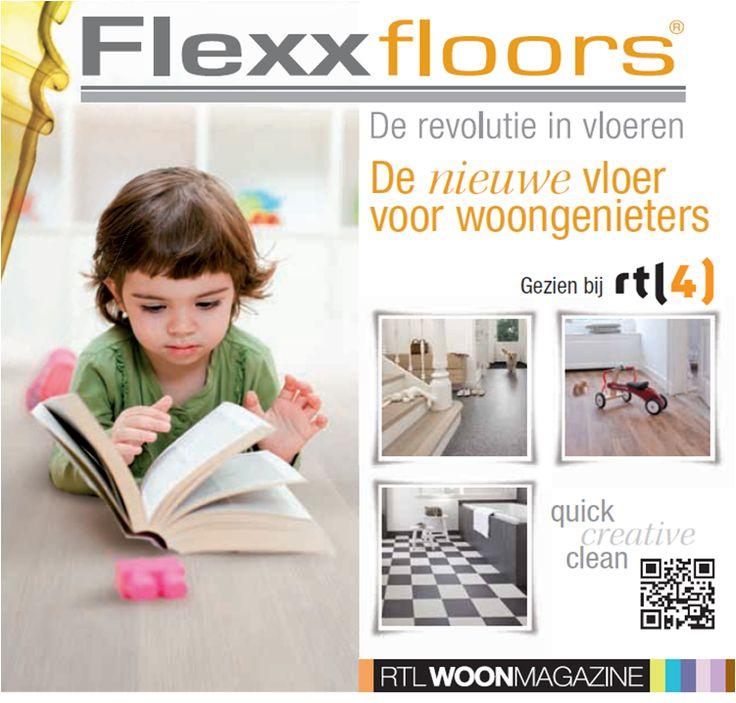 Flexxfloors de nieuw vloer voor woongenieters!  Gezien op RTL4 bij RTLWoonmagazine