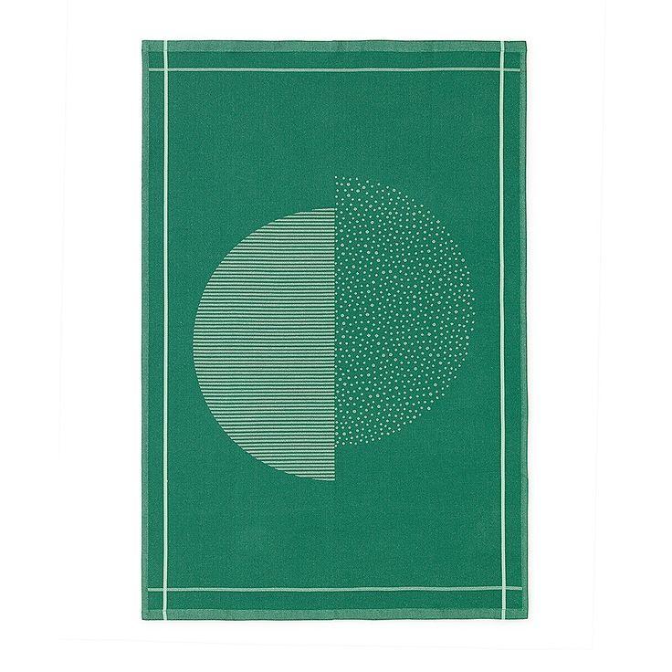 top3 by design - Normann Copenhagen - illusion tea towel green
