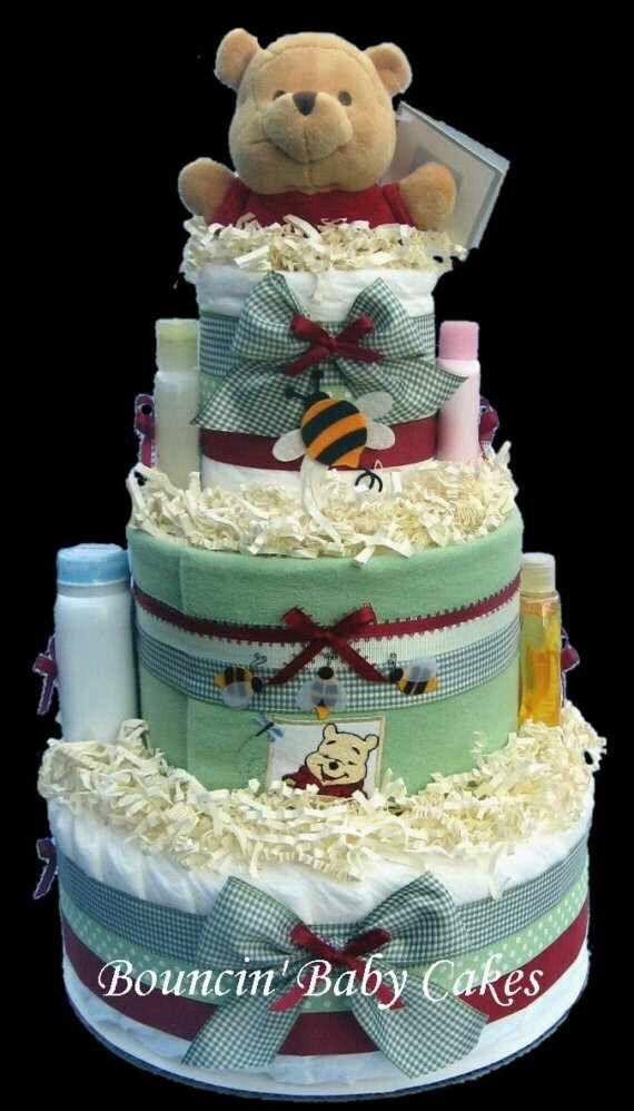 Swaddlers Diaper Cake Tutorial