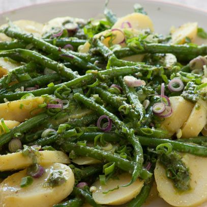 Potato salad with green beans -INA PAARMAN