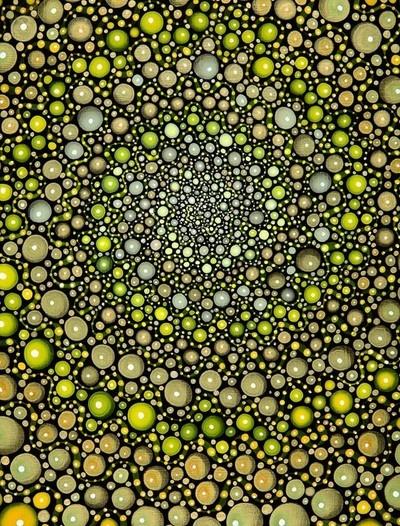 Yellow Spiral - Barbara Takenaga