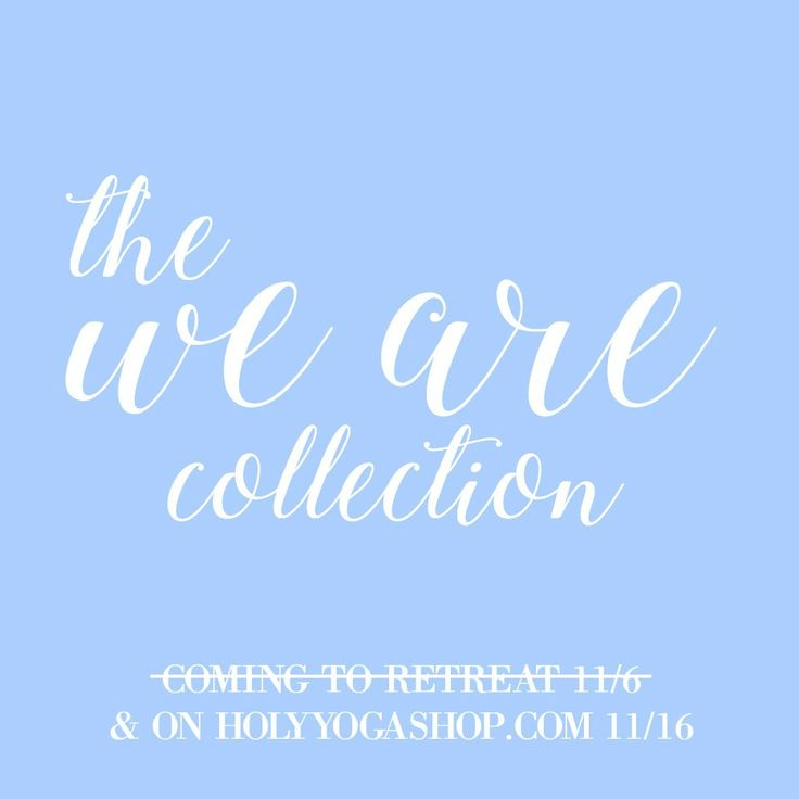 51 best holy yoga shop images on pinterest coupon codes dont its here our newest collection launches today at holyyogashop weare fandeluxe Images