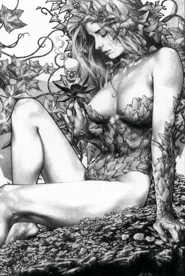 Poison Ivy by Jay Anacleto.