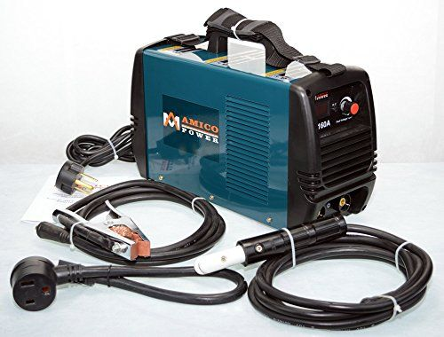 160 Amp Dual Voltage Input DC Welder IGBT Inverter Welding Soldering Machine
