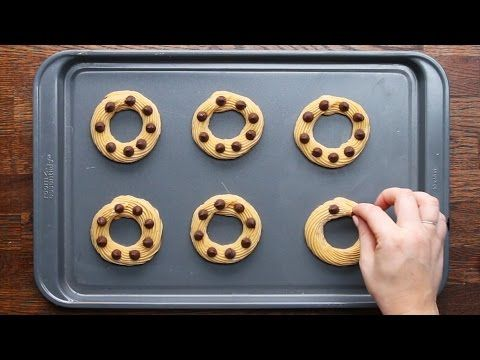Chocolate-Stuffed Churro Donuts - YouTube