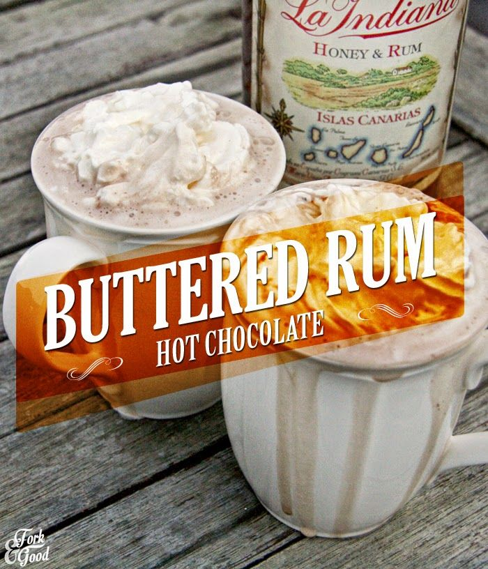 I tested a tower soup maker by making hot chocolates.  Not just any hot chocolates...  Buttered Rum Hot Chocolates!