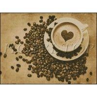 "Схема вышивки  ""Чашка кофе"""