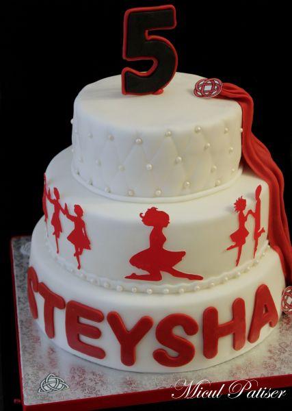 The 25 best dance cakes ideas on pinterest princess for Cake craft beavercreek ohio