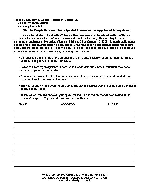 7+ example of petition letter | Bussines Proposal 2017