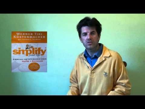 """12. Buchempfehlung: """"simplify your life"""" von Werner Tiki Küstenmacher - YouTube"""