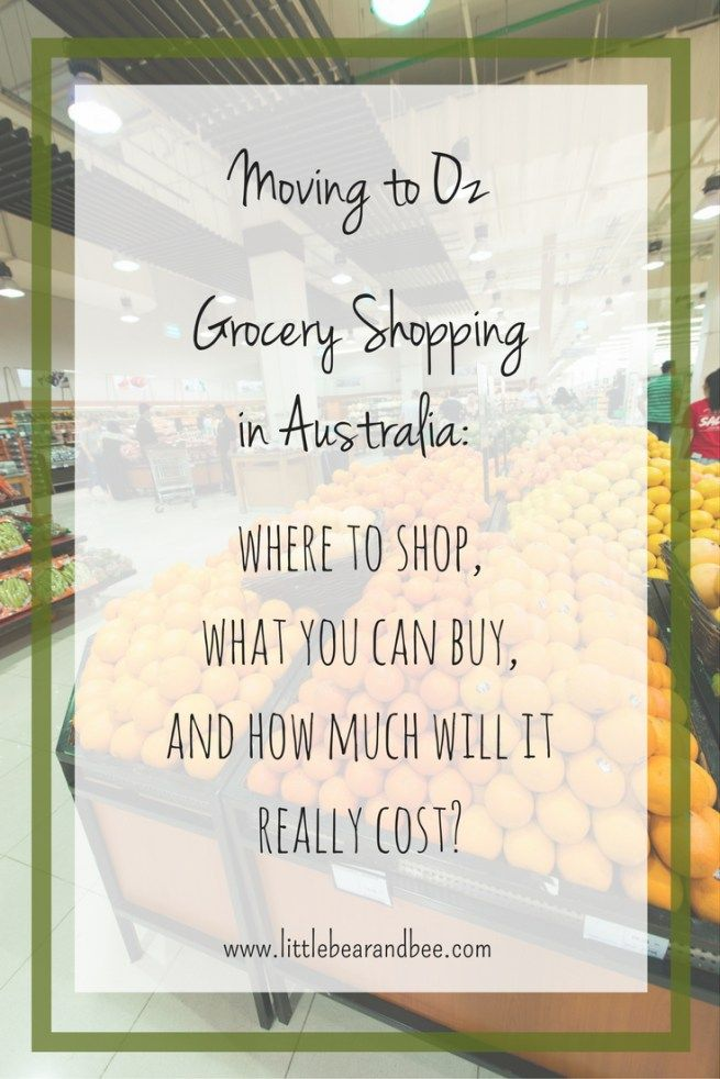 GROCERY SHOPPING IN AUSTRALIA: WHERE TO SHOP, WHAT YOU CAN BUY, AND HOW MUCH WILL IT REALLY COST?