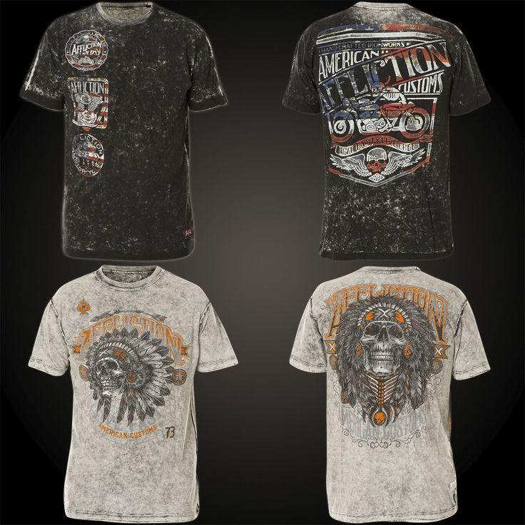 Affliction T-Shirt Crafted Motors Rev.