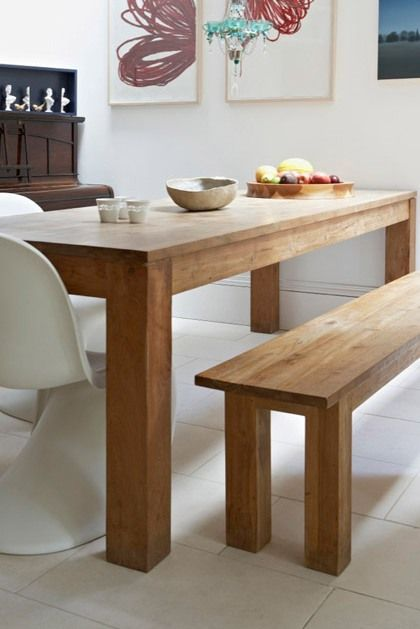 WOOD DESIGN INSPIRATION: Wood Dining Table #furniture #wood #dining #table: Decor, Dining Rooms, Design Inspiration, Wood Dining Tables, Chairs, Tables Furniture, Wood Tables, Dinners Tables, Wooden Tables