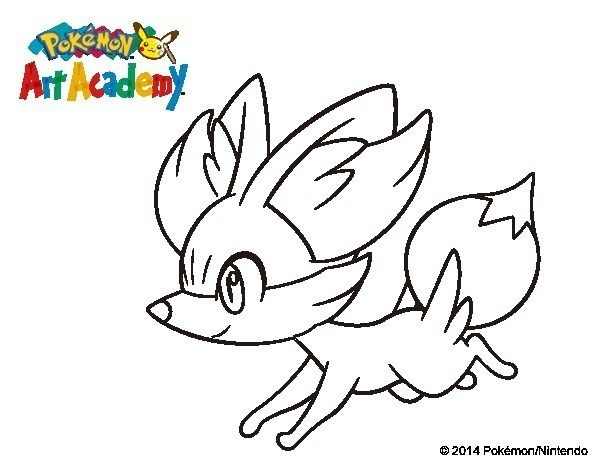 Pretty Coloring Pokemon Coloring Pages Fennekin New At Pokemon Xy