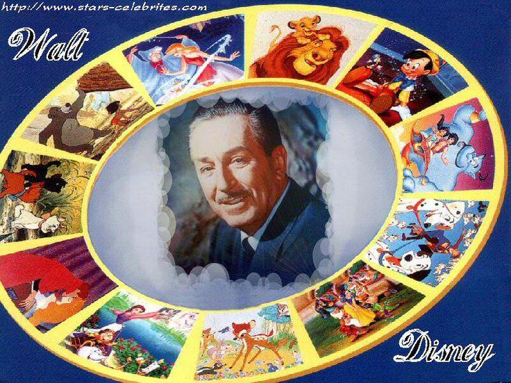images of walt disney | Walt Disney, biographie, citation, production, la totale!