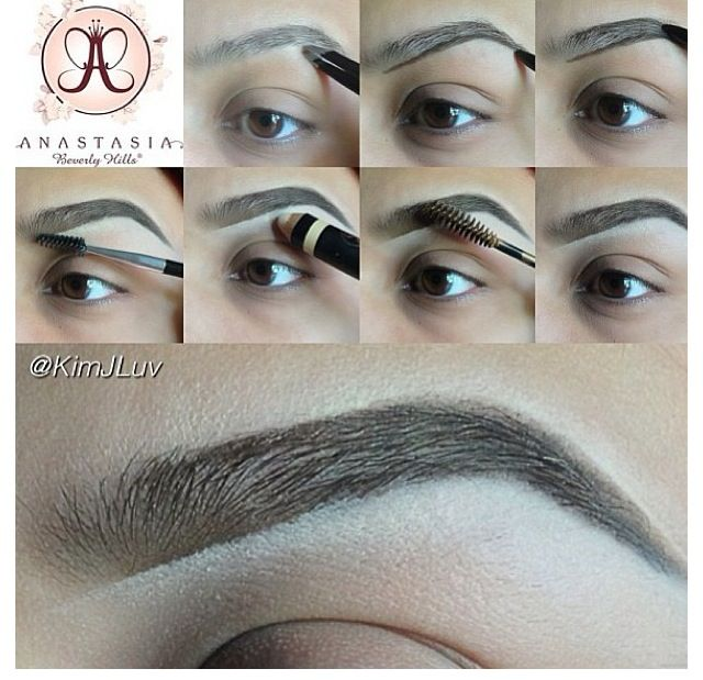 2019 year lifestyle- Tint Eyebrow tips pictures