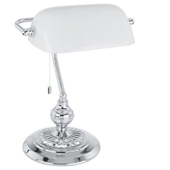 Stolní lampa EGLO EG90968   Uni-Svitidla.cz Klasická pracovní #lampička vhodná jako osvětlení plochy stolu #functional, #classic, #lamp, #table, #light, #lampa, #lampy, #lampičky, #stolní, #stolnílampy, #work