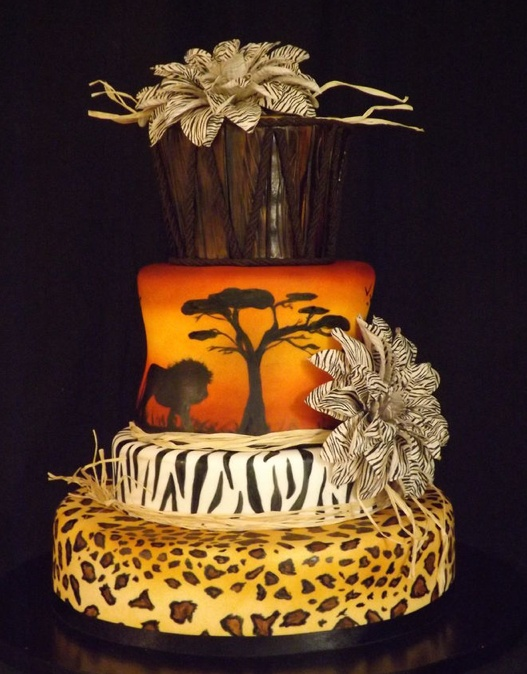 Artis Wedding Cake : 1000+ images about African themed cakes and cupcakes by ...