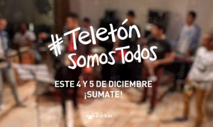 El himno de la Teletón 2015  Una nueva versión de Nada nos frena interpretada por El Gucci, Lucas Sugo y La Trasnochada, entre otros
