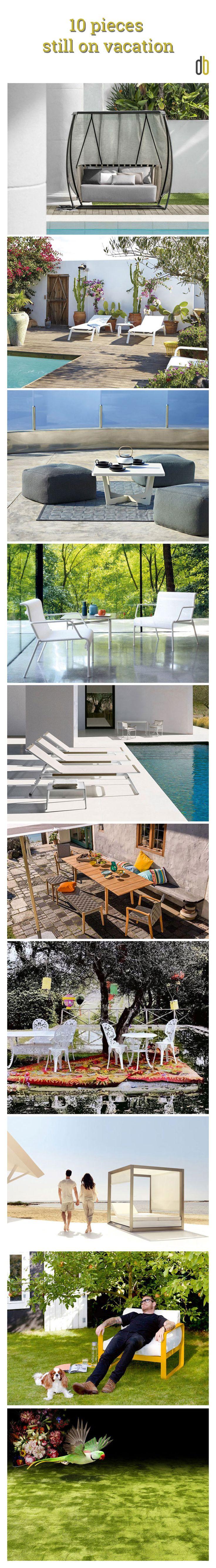 Design Culture | Top 10 | Ten pieces still on vacation ... for those who are still thinking about this summer! | @patricknorguet - @ethimofr - @objectcarpet -@borjagarcia - @bebitalia - @vondom - @fermob - @caneline | #designbest