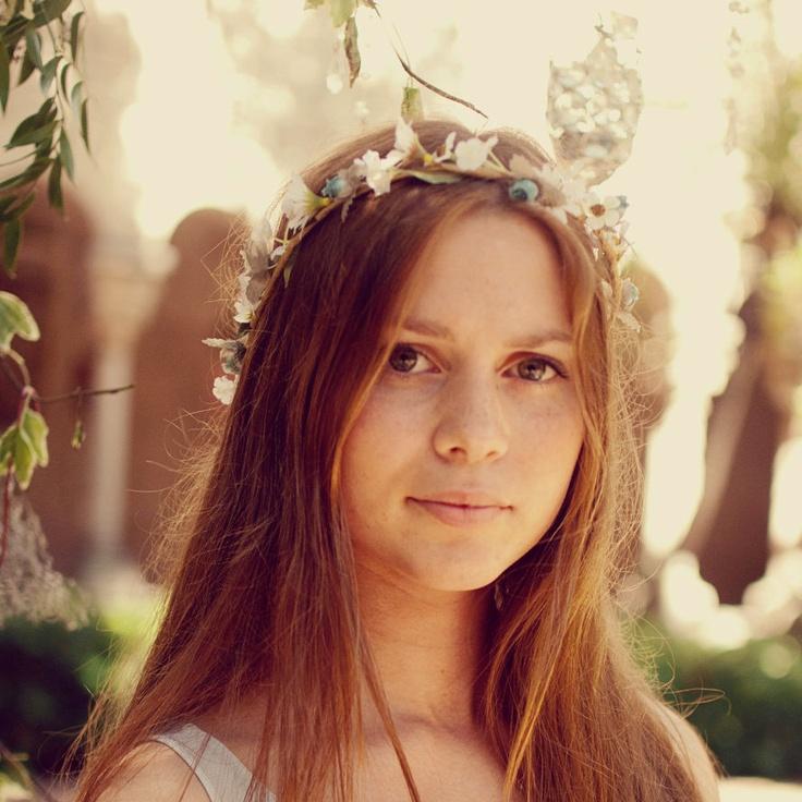 Bridal Hair Accessories Boho : 45 best hippie wedding hair for sierra images on pinterest
