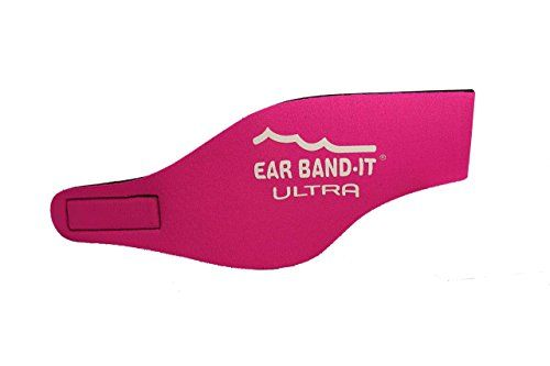 Ear Band-it Ultra Bandeau de natation Rose Rose moyen #Band #Ultra #Bandeau #natation #Rose #moyen
