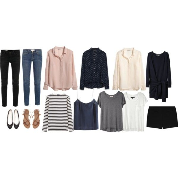 Minimal + Classic: spring/summer --- beautiful pieces, and good for packing light for a longer trip