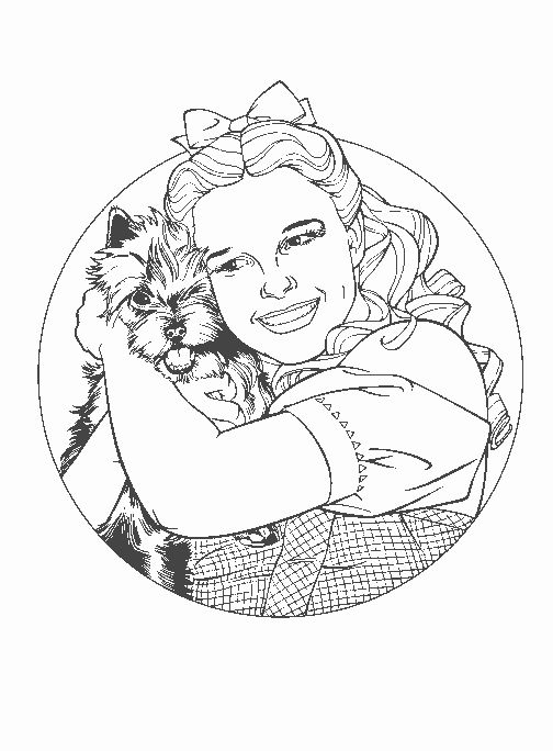 107 best coloring pages images on pinterest for The wonderful wizard of oz coloring pages