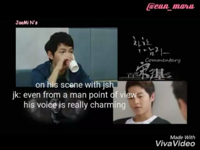 """[Part 2] Joongki to chaewon: """"You only know how to praise kwangsoo"""" . . Watch…"""