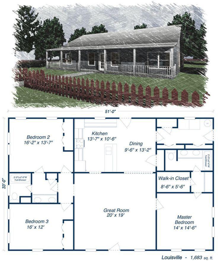 29 Barndominium Floor Plans Ideas To Suit Your Budget Barndominiumfloorplans Barndominiumideas Barndomin Metal House Plans Steel Building Homes Steel House