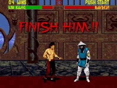 mortal kombat finish him - Yahoo Image Search Results