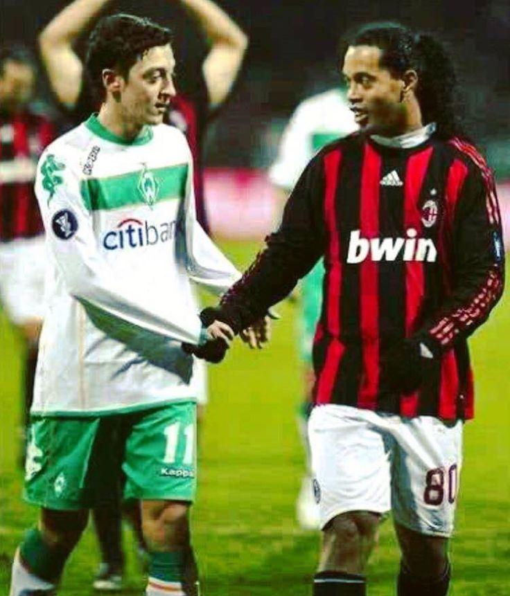 Ozil and Ronaldinho