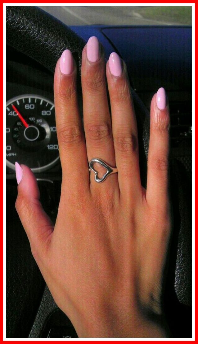 57 Reference Of Light Pink Nails Short In 2020 Pink Nails Light Pink Nails Trendy Nails