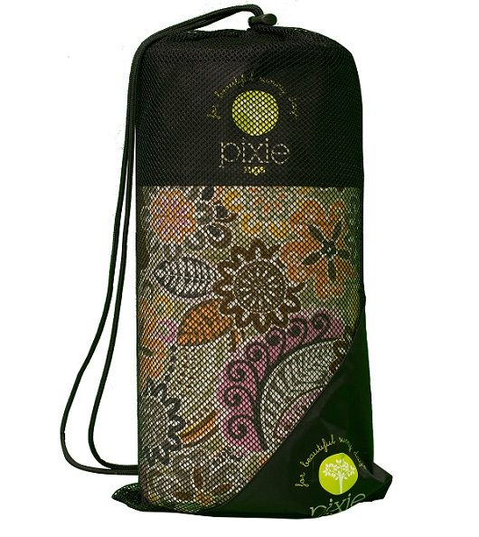 Pixie Rugs - Yellow Floral #limetreekids