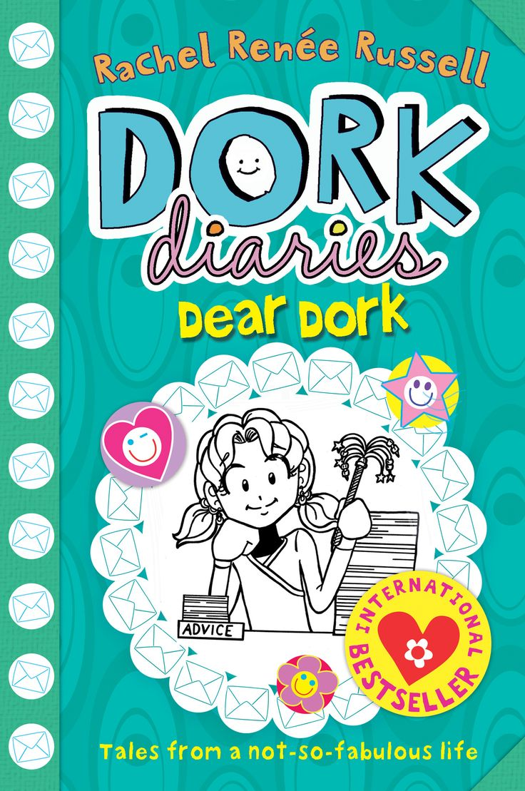 Dork Diaries Dear Dork: By Rachel Renee Russell. This is the last book in the series.
