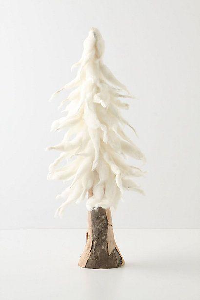 felted tree