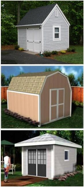 90 best images about shed plans building kits on pinterest for Design and build your own shed